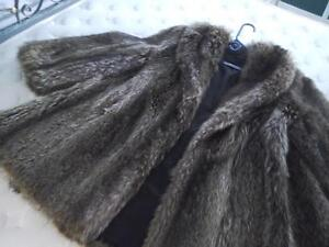 Italian Marmot Fur 3/4 Coat