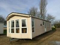 Caravan double glazed central heated 3bed FREE UK DELIVERY