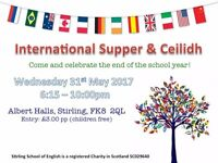 Stirling School of English International Supper and Ceilidh