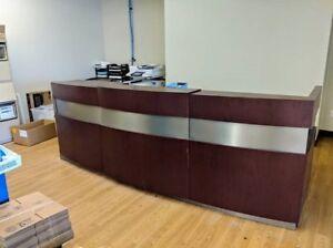 bureau reception
