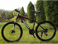 """RED AND BLACK 2016 Giant Atx Mountain bikes """"NEW"""" boxed 26""""1.95 Medium Size"""