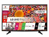 "LG 49"" SMART 4K UHD HDR WEBOS TV FREEVIEW WIFI YOUTUBE ETC"