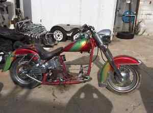 Wanted: Harley rolling chassis frame for school project