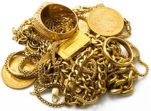 Buying GOLD - 10kt $19.25 - 14kt $26.75 - 18kt $35.75 - 22k $43