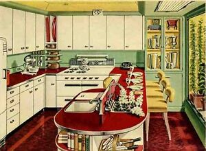 CASH PAID BUYING RETRO BRIGHT COLOR KITCHEN WARES $$