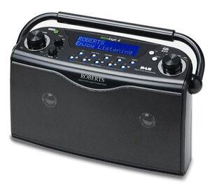 ROBERTS-ECOLOGIC-4-BLACK-DAB-DIGITAL-FM-RADIO-PORTABLE-150-HOURS-BATTERY-LIFE