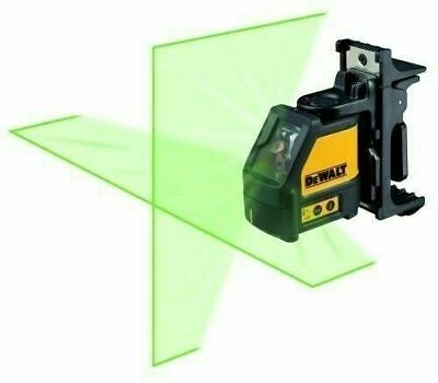 Dewalt Dw088cg Self Leveling Cross Line Laser Level 165 Range Kit - Brand New