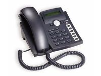 VOIP telephone for sale 2 available sold as a pair or separately, includes headset (option)
