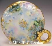 Limoges Forget Me Not