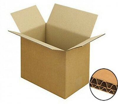 10 LARGE STRONG REMOVAL MOVING PACKING CARDBOARD BOXES - MULTI DEPTH 45CM / 16''