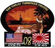 USS Kitty Hawk Patch