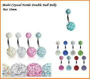 Crystal Belly Bar