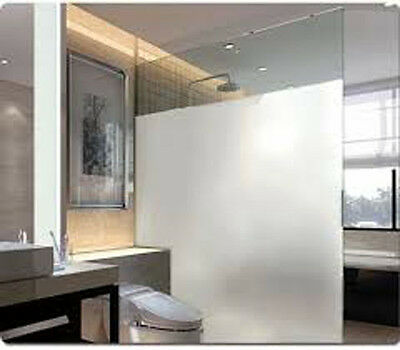 White Frost Privacy Frosted Window Film Matte Opal Etch