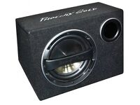 selling excellent condition subwoofer base with fittings