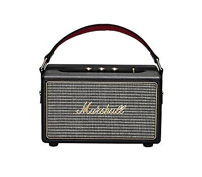 Marshall Kilburn 30-watt Portable Bluetooth Speaker w Aux Port in Black 04091189