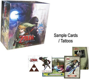 The Legend of Zelda Twilight Princess Trading Card Sealed Booster Box [24 Packs]