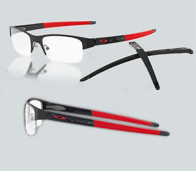 18db6d86b221a New Oakley OX 3226 CROSSLINK 0.5 322601 Satin Black Eyeglasses