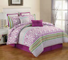 Purple Abstract Comforters & Bedding Sets