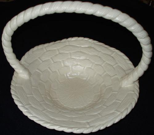 Ceramic Easter Basket Ebay