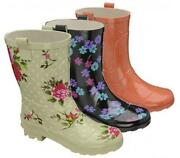 Short Wellington Boots