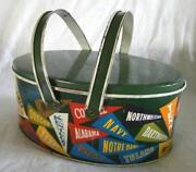 Vintage Tin Lunch Box