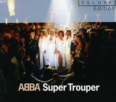 ABBA : Super Trouper CD Deluxe  Album with DVD 2 discs (2011) Quality guaranteed