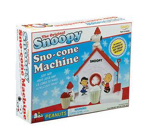 snoopy sno cone machine ebay