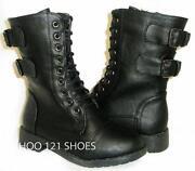 Boys Combat Boots