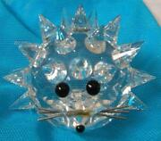 Swarovski Crystal Figurines Hedgehog