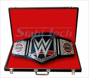 world heavyweight champion belt, real leather,(replica),