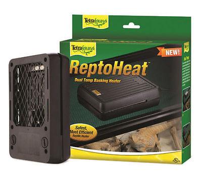 Tetra ReptoHeat Basking Heater Dual Temp Reptile Snake Pet cage Basket Warmer