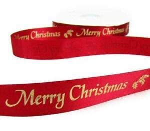 christmas tree ribbons - Wired Christmas Ribbon