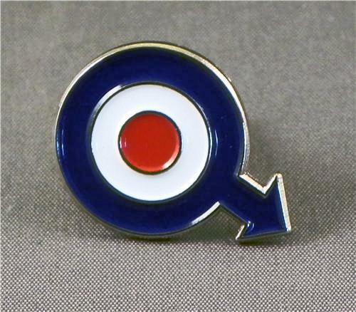 from Miguel gay men symbol pin