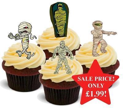 Halloween Mummies Mix Stand Up Premium Card Cake Toppers](Halloween Mix Up)