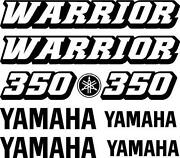 Yamaha Warrior Graphics