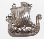 Sterling Silver Viking SHIP
