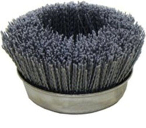 "OSBORN 32138 6"" 80 Grit Abrasive Brush great for log and wood home restore NIB"