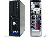 Windows 7 Dell Dual Core Fast 8GB RAM - 2TB HDD Desktop Tower PC Computer FAST
