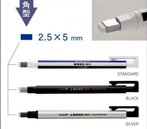 Refill x 2 Pcs. Tombow Mono Zero Eraser Circle 2.3 mm ER-KUR Japan
