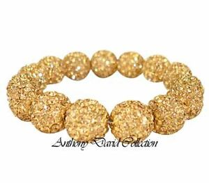 Anthony-David-Gold-Metal-Crystal-Pave-Ball-Bracelet-with-Swarovski-Crystals