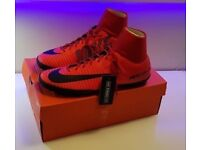 **NEW - NIKE MERCURIAL X VICTORY VI DF TF - DYNAMIC FIT ASTRO TURF FOOTBALL BOOTS TRAINERS UK 11**