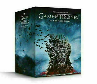 GAME OF THRONES THE COMPLETE SERIES SEASONS 1-8 DVD 38 DISC BOX SET
