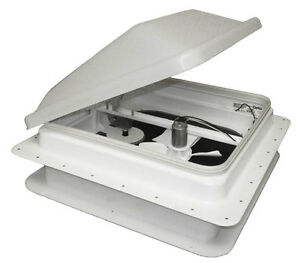 TRAILER / RV ROOF VENT with 12 volt FAN - CLENTEC
