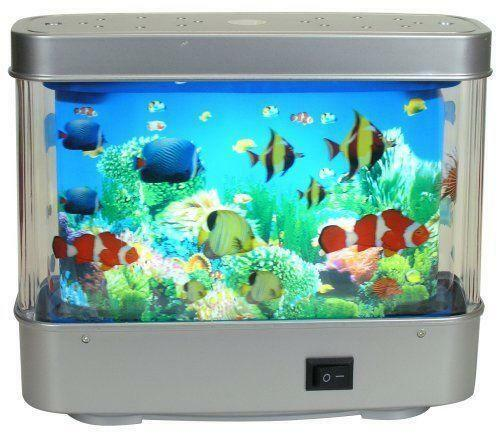 Fish Aquarium Motion Lamp Ebay