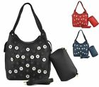 Faux Leather Bucket Large Bags & Handbags for Women