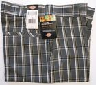 Dickies Plaids & Checks Regular 38 Shorts for Men