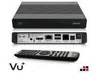 VU + Zero DVB-S freeview/set top box