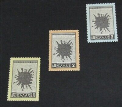 nystamps Greece Stamp # 568-570 Mint OG NH $44   L23y312