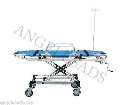 Emergency Medical Stretcher Trolley Ambulance Aluminum Wheel Fda 191-mayday