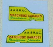 Matchbox Decals